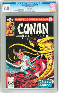 Conan the Barbarian #121 (Marvel, 1981) CGC NM/MT 9.8 White pages