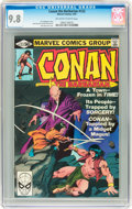 Modern Age (1980-Present):Superhero, Conan the Barbarian #122 (Marvel, 1981) CGC NM/MT 9.8 Off-white to white pages....