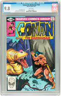 Modern Age (1980-Present):Miscellaneous, Conan the Barbarian #126 (Marvel, 1981) CGC NM/MT 9.8 White pages....