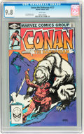 Modern Age (1980-Present):Superhero, Conan the Barbarian #127 (Marvel, 1981) CGC NM/MT 9.8 White pages....