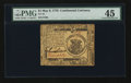 Colonial Notes:Continental Congress Issues, Continental Currency May 9, 1776 $1 PMG Choice Extremely Fine 45.....