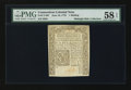 Colonial Notes:Connecticut, Connecticut June 19, 1776 1s PMG Choice About Unc 58 EPQ.. ...