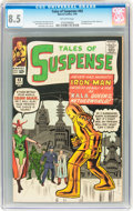 Silver Age (1956-1969):Superhero, Tales of Suspense #43 (Marvel, 1963) CGC VF+ 8.5 Off-white pages....