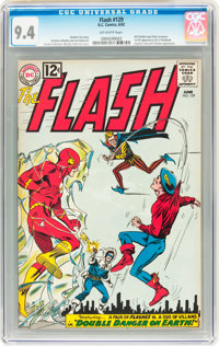 The Flash #129 (DC, 1962) CGC NM 9.4 Off-white pages