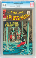 Silver Age (1956-1969):Superhero, The Amazing Spider-Man #33 (Marvel, 1966) CGC NM 9.4 Off-white pages....