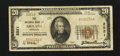National Bank Notes:Nebraska, Ashland, NE - $20 1929 Ty. 1 The NB of Ashland Ch. # 2921. ...