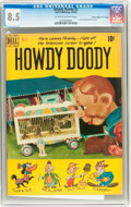 """Golden Age (1938-1955):Humor, Howdy Doody #2 Davis Crippen (""""D"""" Copy) pedigree (Dell, 1950) CGC VF+ 8.5 Off-white to white pages...."""