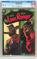 Golden Age (1938-1955):Western, Lone Ranger #54 File Copy (Dell, 1952) CGC VF+ 8.5 Off-white to white pages....