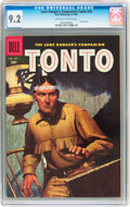 Silver Age (1956-1969):Western, The Lone Ranger's Companion Tonto #24 (Dell, 1956) CGC NM- 9.2 Off-white to white pages....