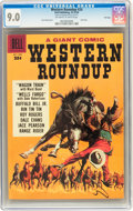Silver Age (1956-1969):Western, Dell Giants #24 Western Roundup - File Copy (Dell, 1958) CGC VF/NM 9.0 Off-white to white pages....