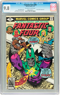 Fantastic Four #208 (Marvel, 1979) CGC NM/MT 9.8 Off-white to white pages