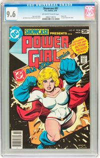 Showcase #97 Power Girl (DC, 1978) CGC NM+ 9.6 Off-white to white pages