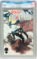 Modern Age (1980-Present):Superhero, Web of Spider-Man #1 (Marvel, 1985) CGC NM/MT 9.8 Off-white to white pages....