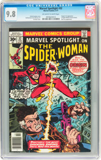 Marvel Spotlight #32 Spider-Woman (Marvel, 1977) CGC NM/MT 9.8 Off-white to white pages