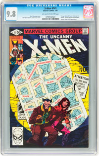 X-Men #141 (Marvel, 1981) CGC NM/MT 9.8 Off-white to white pages