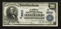 National Bank Notes:Nebraska, Lincoln, NE - $20 1902 Plain Back Fr. 658 The City NB Ch. # (W)5213. ...