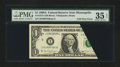Error Notes:Foldovers, Fr. 1915-I $1 1988A Federal Reserve Note. PMG Choice Very Fine 35EPQ.. ...