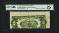 Error Notes:Skewed Reverse Printing, Fr. 1509 $2 1953 Legal Tender Note. PMG Very Fine 25.. ...