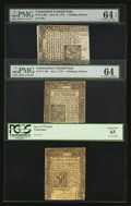 Colonial Notes:Connecticut, Three Uncirculated Connecticut Colonials.. ... (Total: 3 notes)