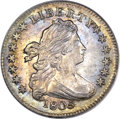 Early Dimes, 1805 10C 4 Berries MS64+ PCGS Secure. CAC. JR-2, R.2....
