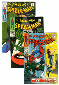 The Amazing Spider-Man Group (Marvel, 1968-70) Condition: Average FN/VF.... (Total: 10 Comic Books)
