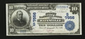 Batesville, AR - $10 1902 Date Back Fr. 616 The First NB Ch. # (S)7556