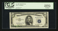 Error Notes:Offsets, Fr. 1655 $5 1953 Silver Certificate. PCGS Extremely Fine 45PPQ.....