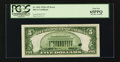 Error Notes:Ink Smears, Fr. 1651 $5 1934A Silver Certificate. PCGS Gem New 65PPQ.. ...