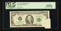 Error Notes:Foldovers, Fr. 2172-B $100 1988 Federal Reserve Note. PCGS About New 53PPQ.....