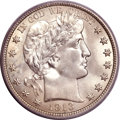 Barber Half Dollars, 1913 50C MS66+ PCGS Secure....
