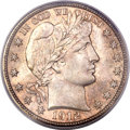 Barber Half Dollars, 1912 50C MS66+ PCGS Secure. CAC....