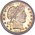 Barber Half Dollars, 1896-S 50C MS67 PCGS Secure. CAC....