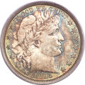 Barber Half Dollars, 1895 50C MS66+ PCGS Secure. CAC....