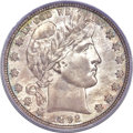 Barber Half Dollars, 1892-O 50C MS66 PCGS Secure. CAC....