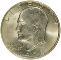 Eisenhower Dollars, 1972 $1 Type Two MS65 NGC. NGC Census: (576/20). Mintage: 75,890,000. Numismedia Wsl. Price for NGC/...