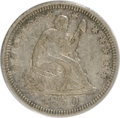 Seated Quarters, 1850 25C XF45 ANACS. NGC Census: (2/26). PCGS Population (2/27).Mintage: 190,800. Numismedia Wsl. Price for NGC/PCGS coin ...