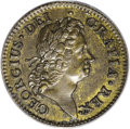 Colonials, 1722 PENNY Rosa Americana Penny, UTILE MS63 Brown PCGS....