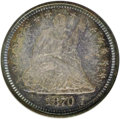 Proof Seated Quarters, 1870 25C PR64 NGC. NGC Census: (42/25). PCGS Population (31/11).Mintage: 1,000. Numismedia Wsl. Price for NGC/PCGS coin in...