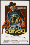 "Movie Posters:Science Fiction, Westworld (MGM, 1973). One Sheet (27"" X 41""). Science Fiction.Starring Yul Brynner, James Brolin, Richard Benjamin, Norman ..."