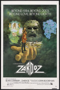 "Movie Posters:Fantasy, Zardoz (20th Century Fox, 1974). One Sheet (27"" X 41""). Fantasy. ..."