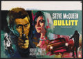 "Movie Posters:Action, Bullitt (Warner Brothers, 1968). Belgian (14"" X 20.5""). Action.Starring Steve McQueen, Robert Vaughn, Jacqueline Bisset, Do..."