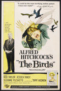 "Movie Posters:Hitchcock, The Birds (Universal, 1963). Poster (40"" X 60""). Hitchcock. ..."