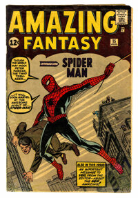 Amazing Fantasy #15 (Marvel, 1962) Condition: Apparent GD