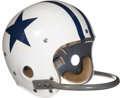 Football Collectibles:Uniforms, 1960 Don Meredith Game Worn Dallas Cowboys Rookie Helmet....