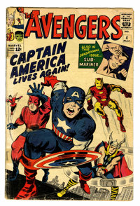 The Avengers #4 (Marvel, 1964) Condition: GD