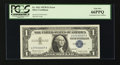 Error Notes:Mismatched Serial Numbers, Fr. 1621 $1 1957B Silver Certificate. PCGS Gem New 66PPQ.. ...