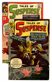 Tales of Suspense #42 and 49 Group (Marvel, 1963).... (Total: 2 Comic Books)