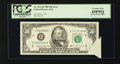 Error Notes:Attached Tabs, Fr. 2123-B $50 1988 Federal Reserve Note. PCGS Extremely Fine45PPQ.. ...