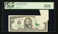 Error Notes:Attached Tabs, Fr. 2125-G $50 1993 Federal Reserve Note. PCGS Choice About New58PPQ.. ...