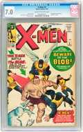 Silver Age (1956-1969):Superhero, X-Men #3 (Marvel, 1964) CGC FN/VF 7.0 Cream to off-white pages....